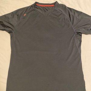 Men's Rhone Sentry Short Sleeve Shirt Black Large